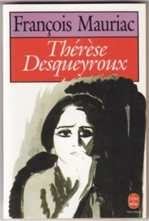 Thérèse desqueyroux résumé de livre jpg 236x350